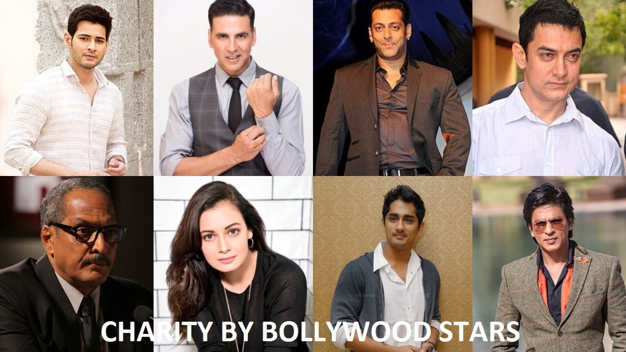 charity by bollywood stars