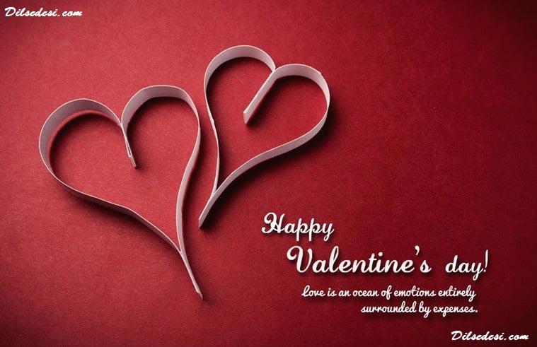 Valentine Day SMS in Hindi   Valentine Day  Hindi  SMS, Shayari, Status, Quotes