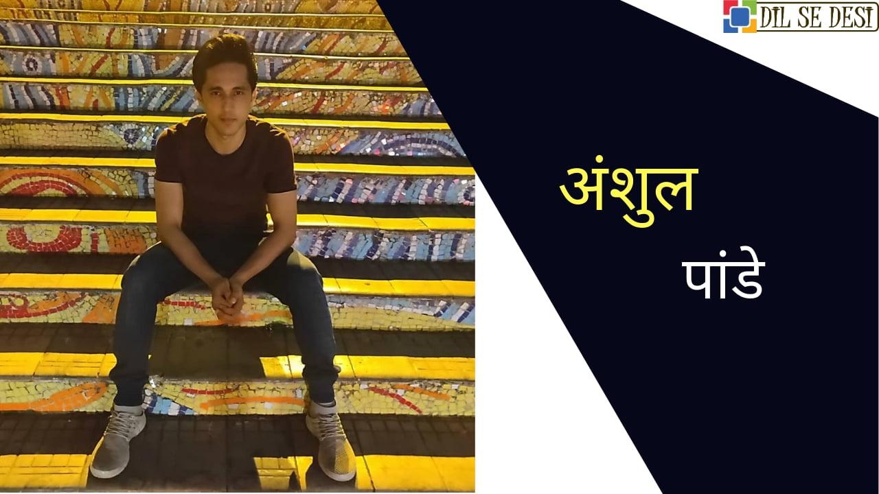 Anshul Pandey Biography in Hindi