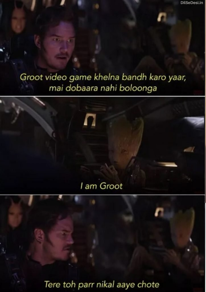 Marvel's Avenger Best Thanos Quotes, Dialogue, Status & Images in Hindi (12)