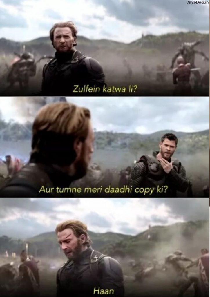 Marvel's Avenger Best Thanos Quotes, Dialogue, Status & Images in Hindi (14)