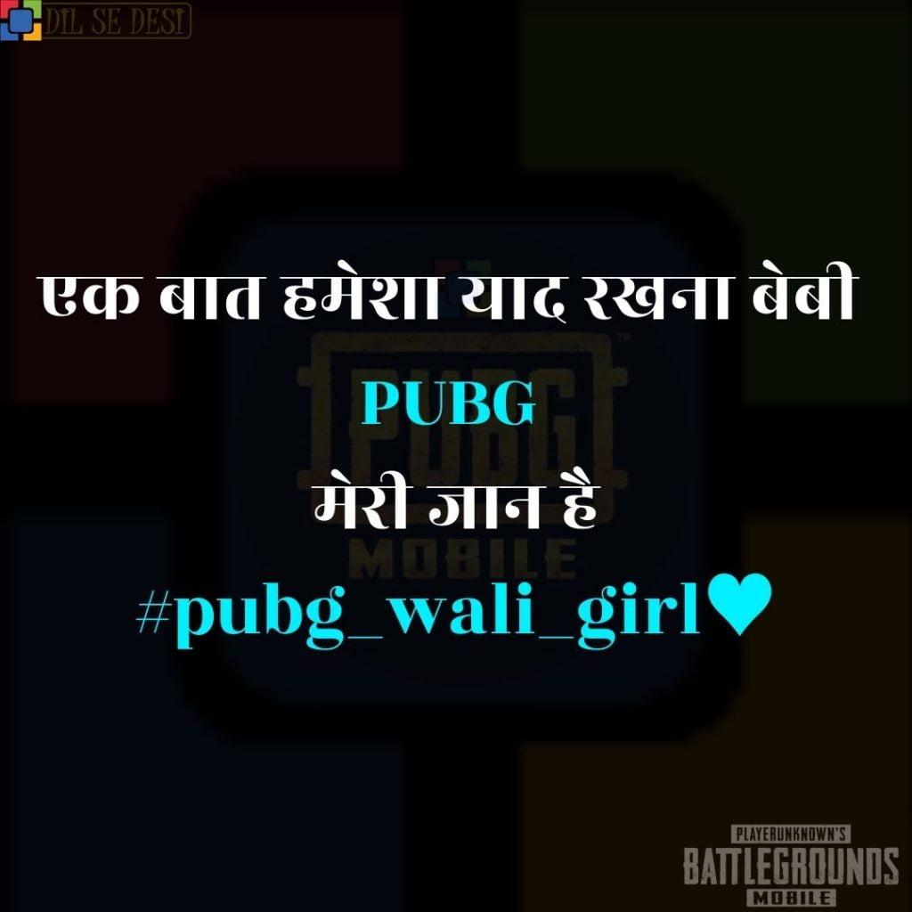 Best PUBG Status, Shayari, Quotes Images in Hindi (39)